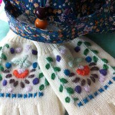 Handwerkles handschoenen borduren – 14 januari  