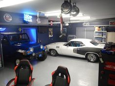 One of the customer photos at http://www.carguygarage.com/