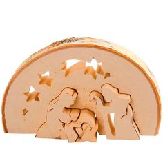 Creations, Gold, Dimensions, Design, Wooden Nativity Sets, Natural Wood, Candles, Presents, Births