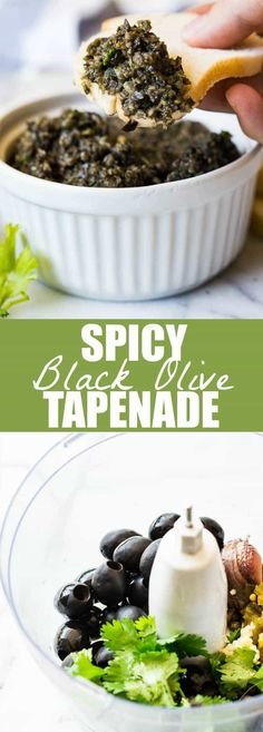 Spicy Black Olive Tapenade is the perfect appetizer made with pureed black olives, cilantro, lime juice, and jalapeños for a little bit of heat!  Treat Yourself! Subscribe today and receive a FREE E-Cookbook and weekly recipes to your inbox! Sign up here!  Follow me on Facebook and Instagram too! This Spicy Black Olive Tapenade is my Texas take on the classic tapenade.  Have...Read More