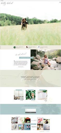 Handcrafting Heartfelt Websites + Branding for Female Creatives | Kelly Halsch | by Viva la Violet | WordPress & Showit