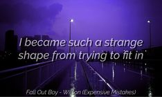 Fall Out Boy - M A N I A - Wilson (Expensive Mistakes)