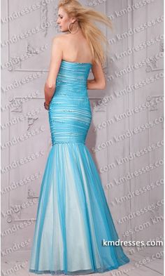 fabulous beaded strapless pleated evening mermaid gown.prom dresses,formal dresses,ball gown,homecoming dresses,party dress,evening dresses,sequin dresses,cocktail dresses,graduation dresses,formal gowns,prom gown,evening gown.