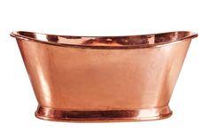 Copper bath tub badkar från Muubs hos ConfidentLiving.se