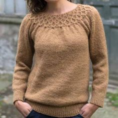 Sweater fra Åserål – CaMaRose Smocking, Men Sweater, Pullover, Knitting, Sweaters, Knits, Design, Stitch, Projects