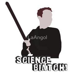 Leo Fitz - Science, biatch! by LaAngol