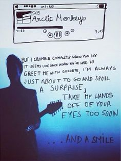 """Arctic Monkeys - 505     This is probably the coolest """"505"""" fan art I've seen."""