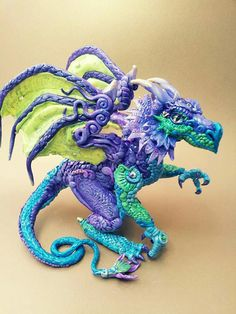 Custom Dragon Made to Order by MakoslaCreations on Etsy, $225.00