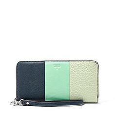 Love the new color and I want the bag tooooo! SL4480P - Sydney Zip Clutch