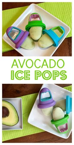 Avocado Ice Pops are made with simple ingredients like avocado ...