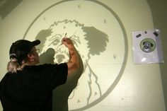 How To Use a Projector to Paint Your Own Wall Mural Pinterest