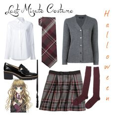 """Contest: Last Minute Costume"" by dtlpinn on Polyvore featuring Misha Nonoo, Hogan, Brooks Brothers, Kenneth Cole Reaction and Sofie D'hoore"