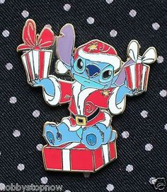 #Disney pin disneyland paris christmas #holiday #stitch with santa hat,  View more on the LINK: 	http://www.zeppy.io/product/gb/2/361501586515/