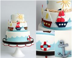 Sailing Cake  #sailing #cake #boat
