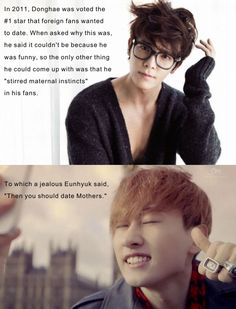 Silly Hyuk... :) | Super Junior | Eunhyuk | Donghae | Eunhae | KPOP | Funny | SuJu