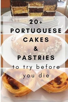 Portuguese cakes and pastries to try before you die - Portugalist Portuguese Desserts, Portuguese Recipes, Portuguese Food, Camino Portuguese, Algarve, Just Desserts, Dessert Recipes, Best Street Food, Pastry Cake