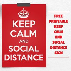 This keep calm and social distance sign can be hung in windows of homes and businesses in order to encourage people to stay 6 feet metres) apart.The post Keep calm and social distance sign appeared first on Free Printables Online. Fire Safety Poster, Safety Posters, Mask Quotes, Library Signs, Keep Calm Signs, Keep Calm Posters, Library Lessons, Free Sign, Business Signs
