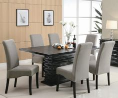 Stanton Contemporary 7-Pc Black and Gray Dining Table Set by Coaster by Coaster Home Furnishings, http://www.amazon.com/gp/product/B0057797FK/ref=cm_sw_r_pi_alp_66SFqb1YW36NA