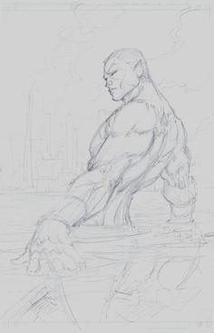 Namor by Michael Turner