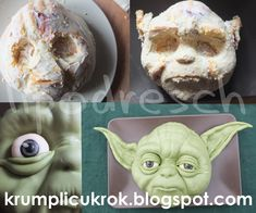 krumplicukrok: star wars torta