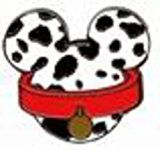#USAshopping #10: Disney Pin 86542: Mickey Mouse Icon Mystery Pouch - 101 Dalmatians Pin