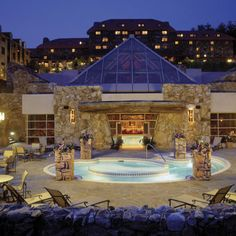 I deserve this. The spa at the Grove Park Inn, Asheville NC Grove Park Inn Asheville, Asheville Hotels, Best Resorts, Hotels And Resorts, Luxury Hotels, Vacation Resorts, Vacation Places, Vacation Ideas, Vacations