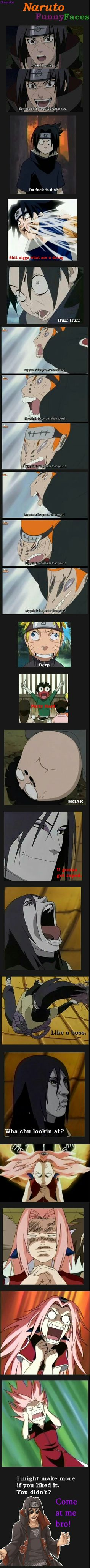 Naruto# funny faces#