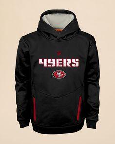 Youth Black San Francisco 49ers Fan Gear Prime Pullover Hoodie ... 0c3b314c0476