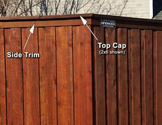 An ft tall Cedar Board on Board Fence with Steel Posts is the option that will provide the most security and privacy, and is the sturdiest. Redwood Fence, Wood Fence Gates, Cedar Fence Pickets, Wood Fence Design, Wooden Gates, Cheap Privacy Fence, Privacy Fence Designs, Diy Fence, Backyard Fences