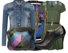 Outfit kan zowel overdag als in de avond worden gedragen.