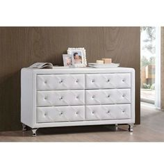 Marvelous Shop For Baxton Studio Luminescence Wood Contemporary Upholstered Dresser.  Get Free Shipping At Overstock. Furniture OutletOnline ...