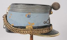Shako d'officier de Hussard, modèle 1874, période IIIème République