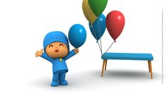 Celebrate all things that matters to you and your #family!!  www.pocoyo.com/en