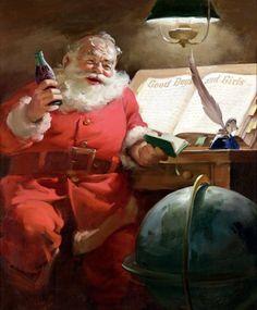 Coca Cola and Santa Claus