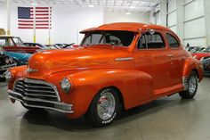 1947 Chevrolet Fleetmaster Coupe Orange.Re-pin brought to you by #AutoInsuranceAgents serving #Eugene/Springfield at #HouseofInsurance