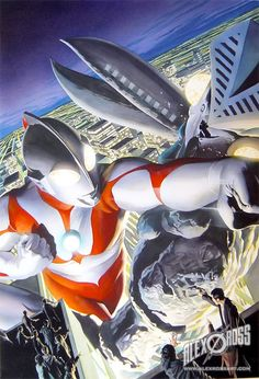 ULTRAMAN artwork by Alex Ross