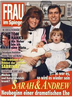 FRAU IM SPIEGEL Nr. 40 vom 28. September 1995 - Sarah & Andrew