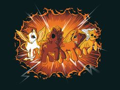 Four Little Ponies of the Apocalypse