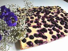 Aneta Goes Yummi: Kysnutý koláč s tvarohom a čučoriedkami