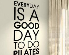 Fitness Motivational Pilates Workout Exercise by Stickersshopthree