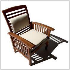 Two All-Weather Hardwood Eucalyptus Arm Chairs Price: $219.00