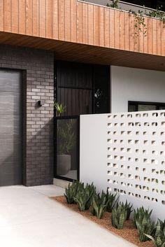 The Ash - Dalecki Design Custom Home Designs, Custom Homes, Breeze Block Wall, Bright Homes, Small House Design, Mid Century House, Building Design, Exterior Design, Designer