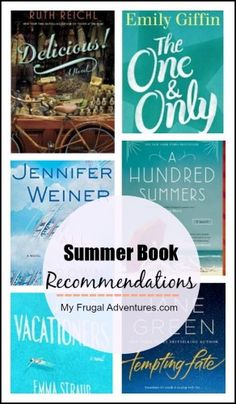 Summer Reading Recommendations for Mom- 10 Great Books to take to the beach!