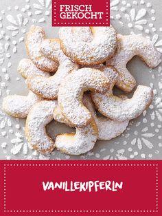 Vanillekipferln Pie Recipes, Ginger Beard, Chocolate Candies, Treats, Cookie Recipes, Weihnachten, Cooking, Cake Recipes