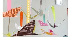 Etsy find of the day - flying bird mobile