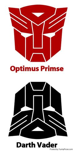 "Although there is no ""s"" in Prime, Optimus Prime vs Darth Vader. I love both but Optimus would totally kick his butt!"