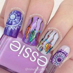 trendy easy nail art designs 2016