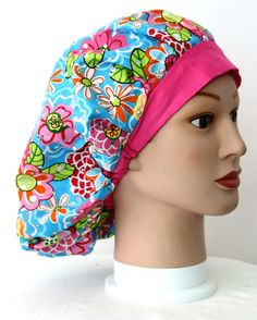 Spring Bling Bouffant Surgical Scrub Hat by duehringphotocc, $5.00