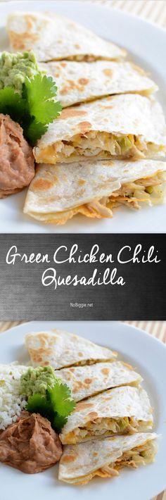 Green Chicken Chili