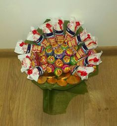Lottery bouquet